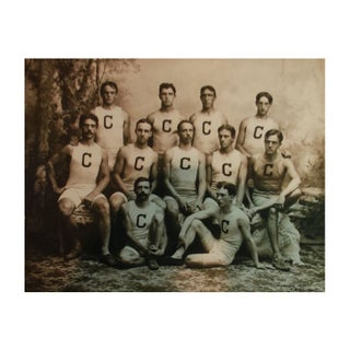 Reproduction Vintage Sports Photograph Cornell