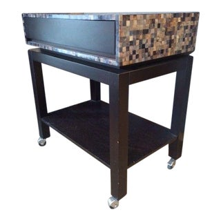 Nusa Mosaic Serving Cart For Sale