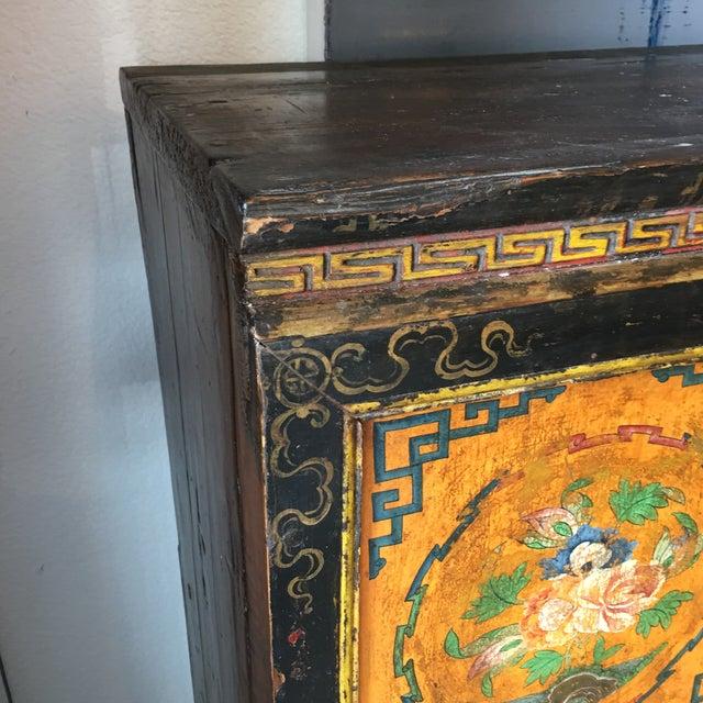 Tibetan Handpainted Cabinet - Image 9 of 11