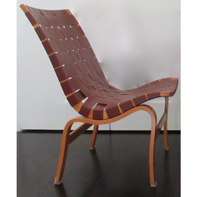 """Final Markdown: 1940-49 Vintage Bruno Mathsson Mid-Century Modern Scandinavian """"Eva"""" Easy Chairs - a Pair For Sale - Image 11 of 13"""