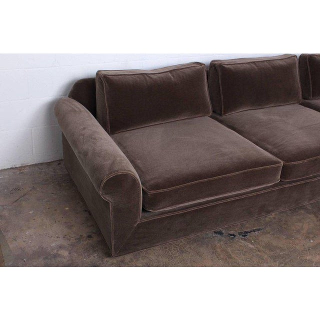 """Big Texan"" Sofa by Edward Wormley for Dunbar in Mohair - Image 8 of 10"