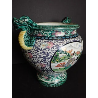 Japanese Porcelain Vase With Dragon Handles Preview