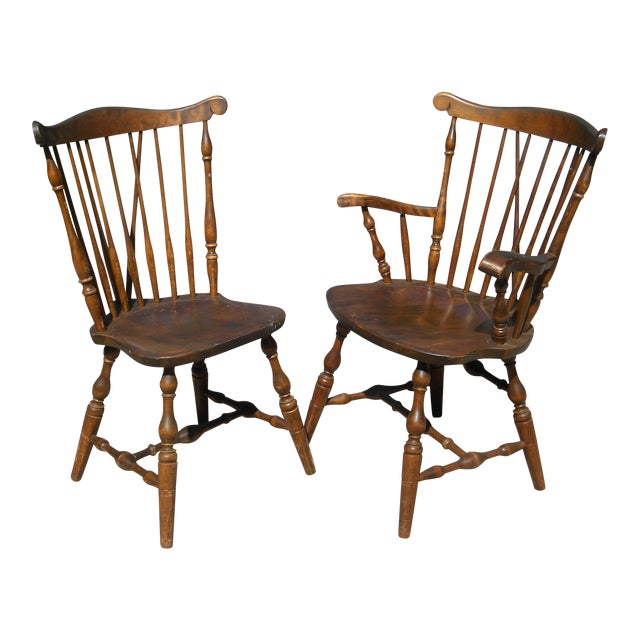 SBent Bros Colonial Dining Chairs