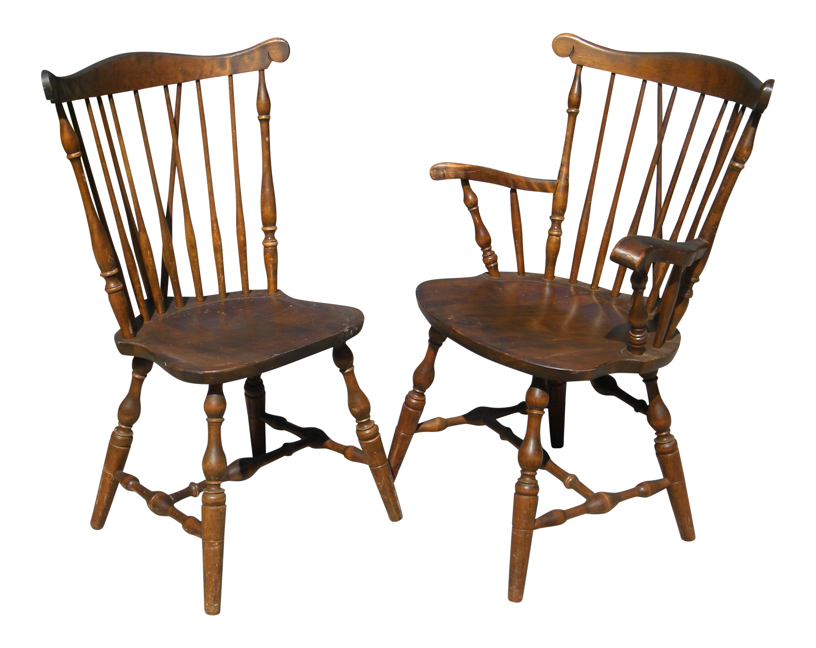 S.Bent U0026 Bros Colonial Dining Chairs   Set Of 6