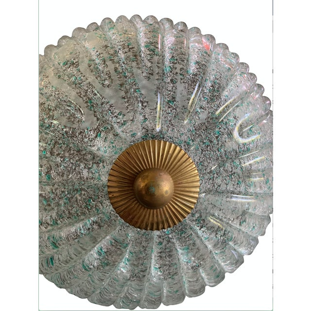 1970s Single Murano Glass Wall Sconce For Sale - Image 5 of 6