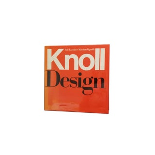 """Knoll Design"" Coffee Table Book For Sale"