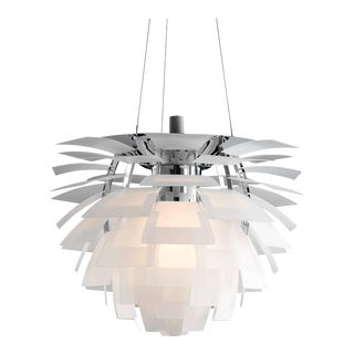 Poul Henningsen PH Glass Artichoke Chandelier for Louis Poulsen