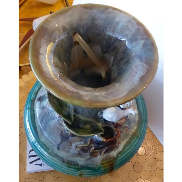 Jar Shape Fountain with Ducks - Image 6 of 10
