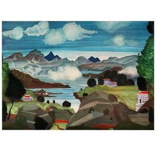 """1939 Andre Derain, Rare Original Lithograph """"Setting"""" For Sale"""
