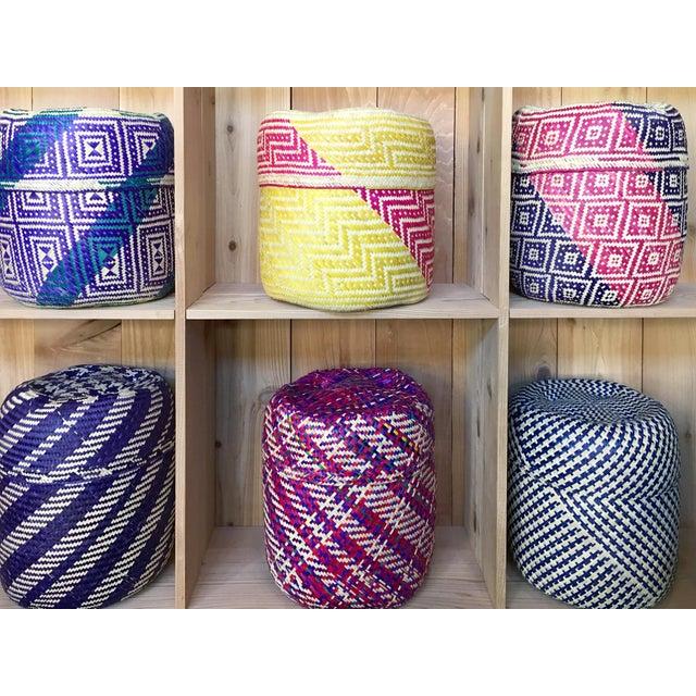 Handwoven Palm Basket - Image 3 of 3