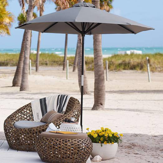 West Elm Montauk Nest Chairs - Set of 3 For Sale - Image 5 of 5