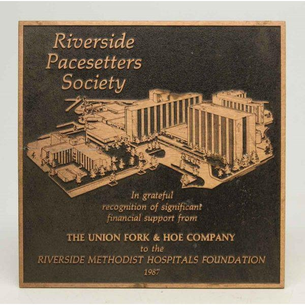 Vintage Riverside Pacesetters Society Plaque - Image 2 of 6