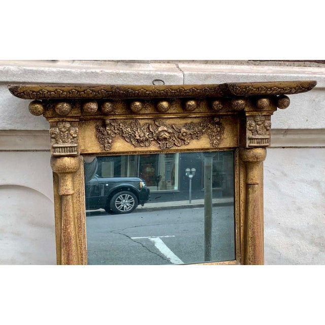 Traditional Early 19th C. Gilt Wall Mirror For Sale - Image 3 of 7