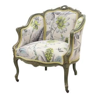Rococo Floral Bergere