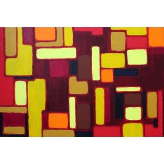 "Original ""Cityscene 1"" Painting"