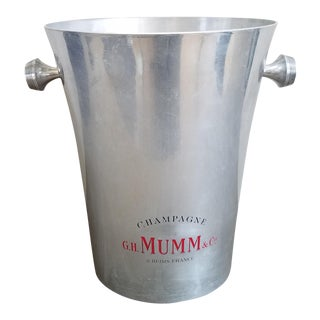 Vintage French Mumm & Co. Champagne Ice Bucket
