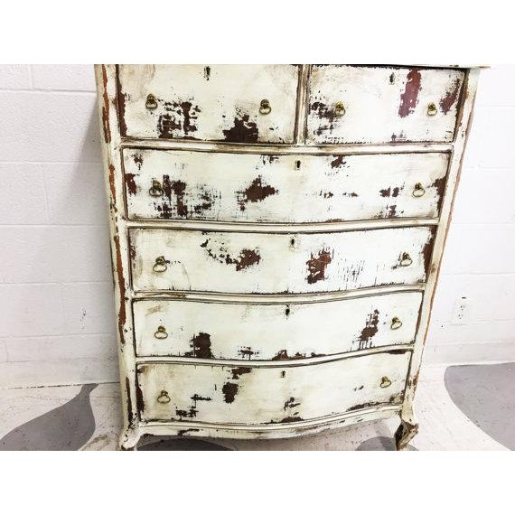 Shabby Chic Dresser in Distressed White - Image 4 of 6