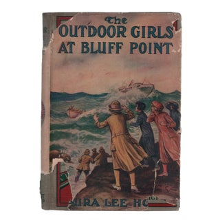 "1920 ""The Outdoor Girls at Bluff Point"" Collectible Book For Sale"
