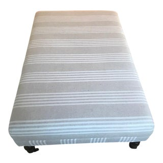 Miles Talbot Upholstered Ottoman For Sale