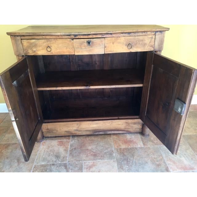 19th Century French Country Cherry Cabinet For Sale - Image 9 of 13