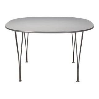 Super Ellipse Table by Piet Hein and Bruno Mathsson for Fritz Hansen For Sale