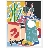 """Image of Medium """"Still Life With Jug"""" Print by Katy Welsh, 23"""" X 30"""" For Sale"""