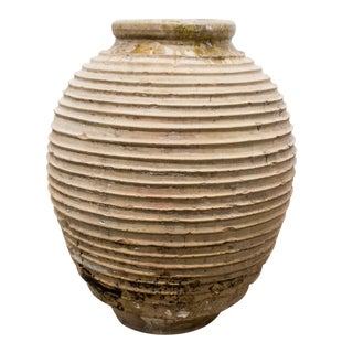18th Century Mediterranean Olive Jar For Sale