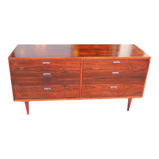 1970s Danish Modern Harvey Probber Rosewood Dresser For Sale