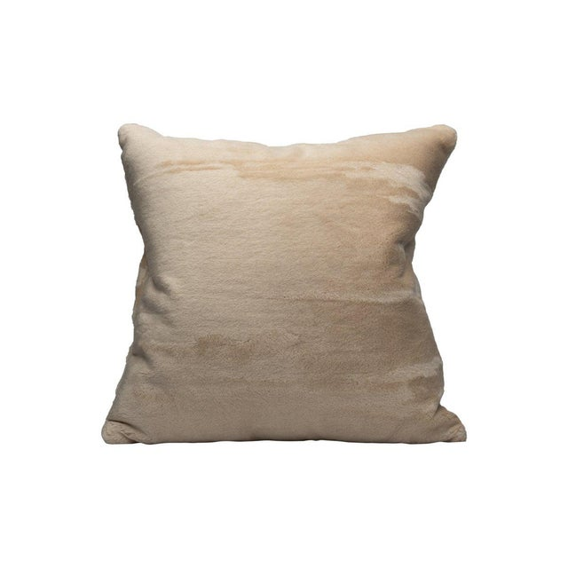 Transitional Scalamandre Polar Bear Pillow, Arctic For Sale - Image 3 of 3