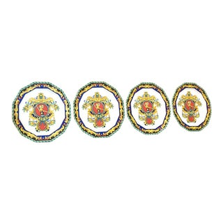 Versace Rosenthal Decorative Plates - Set of 4