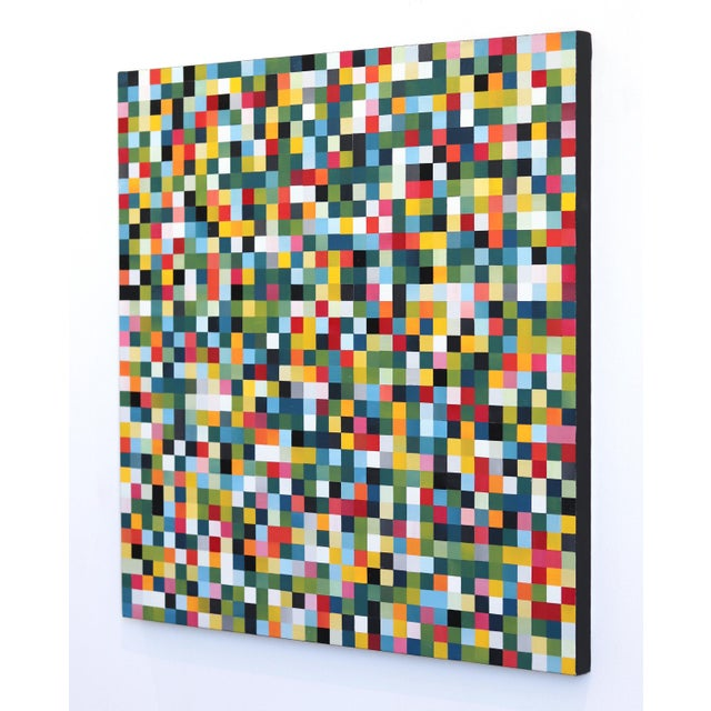 """""""1296 Squares"""" Original Artwork by Brandon Neher For Sale In Los Angeles - Image 6 of 9"""