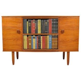 1960s Vintage Hidden Bar Cabinet For Sale