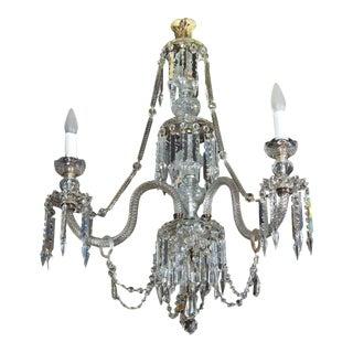 Georgian Style Three-Light Chandelier For Sale