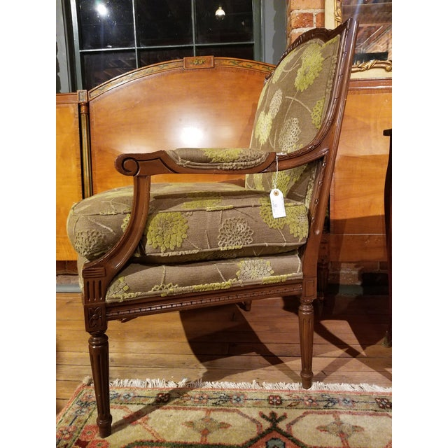 Modern Edward Ferrell Fauteuil From Waldorf Astoria New York For Sale - Image 3 of 11