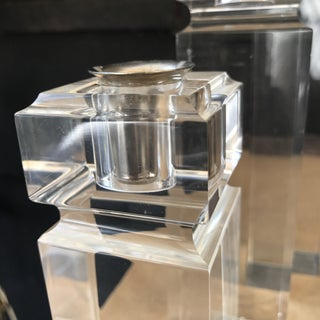 Ritts Astrolite Acrylic Lucite Candle Holders - Set of 3 Preview