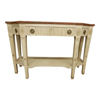 Early 19th C Painted Directoire' Console For Sale