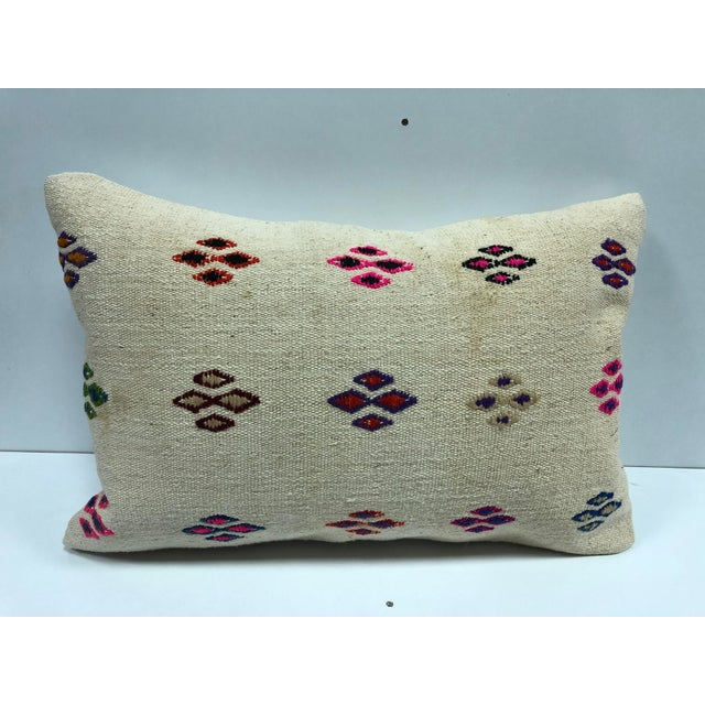 Patterned Decorative Turkish Handmade Ethnic Cushion Cover For Sale In Phoenix - Image 6 of 6