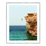 """Image of """"The Fall Guy"""" Contemporary Figurative Landscape Photograph by Julien Capmeil, Framed For Sale"""