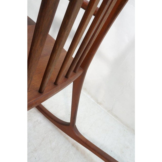 Tall Oversized American Craftsman Rocking Chair - Image 8 of 10
