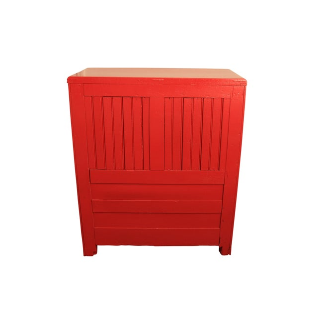 1950s' Retro Red Ice Box - Image 2 of 6