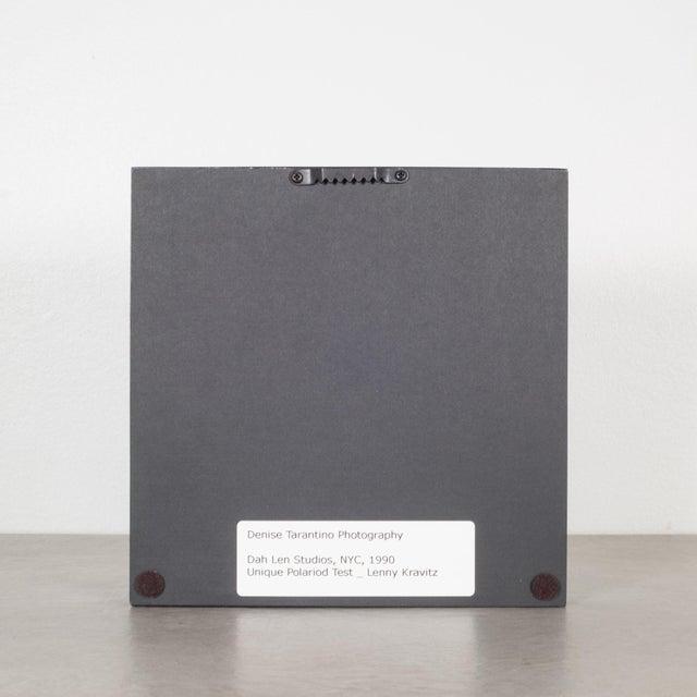 Modern Polaroid Test Image of Lenny Kravitz by Denise Tarantino for Dah Len Studios For Sale - Image 3 of 4