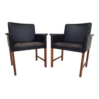1970s Vintage Danish Conference Chairs by Hans Olsen For Sale