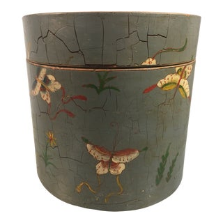 1960s Chinese Hand Printed Box For Sale