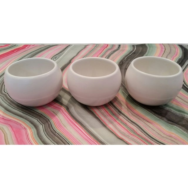 Vintage White Vessels Shiny Matte Combo - Set of 3 - Image 2 of 6