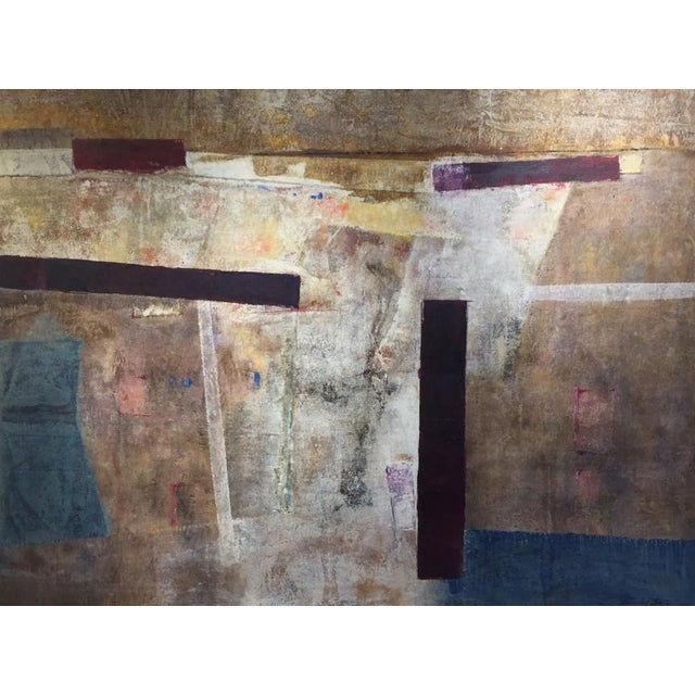 Canvas Stanley Bate, South Bay Painting, 1971 For Sale - Image 7 of 7