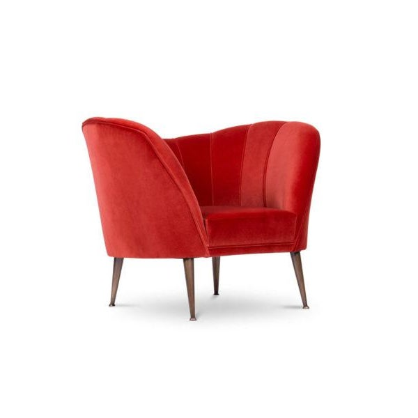 Mid-Century Modern Covet Paris Andes Armchair For Sale - Image 3 of 10