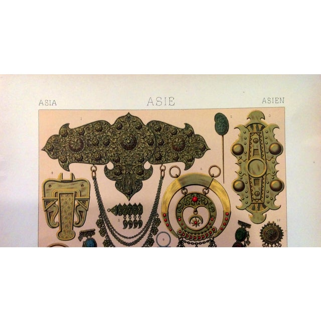 1888 Jewelry of Ancient Asia Lithograph - Image 5 of 7