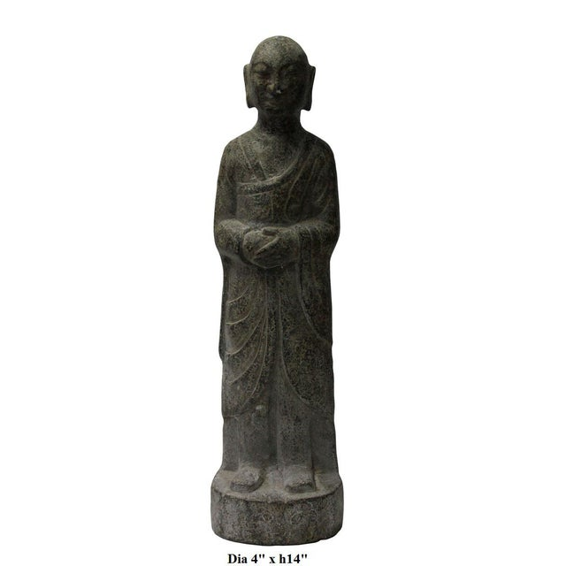 Chinese Gray Stone Statue For Sale In San Francisco - Image 6 of 6