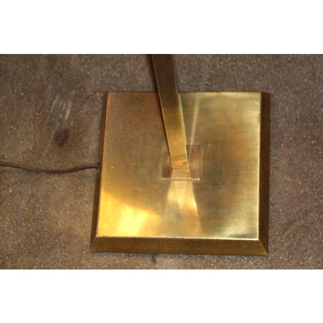 Mid-Century Modern Brass Chapman Floor Lamp For Sale - Image 3 of 6
