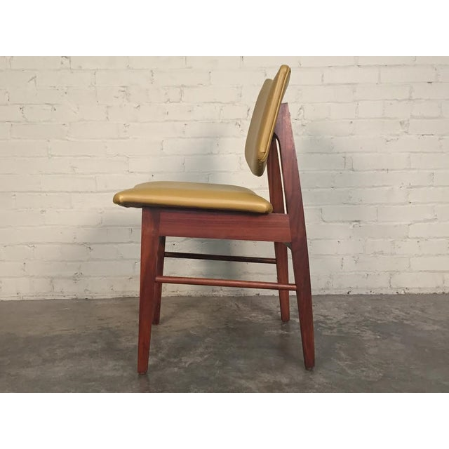 Jens Risom Style Mid-Century Modern Desk Chair - Image 6 of 8